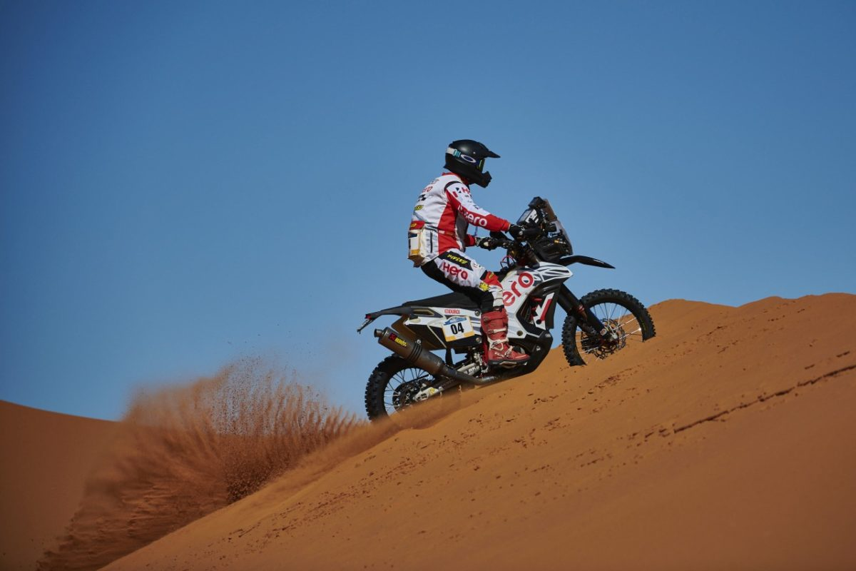 Oriol Mena – Rider No. 4 at Merzouga Rally 2019