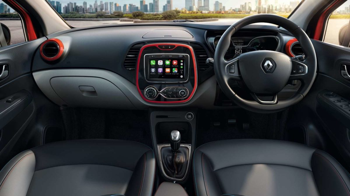 Renault Captur enhanced dashboard
