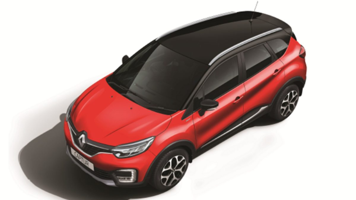 Renault Captur enhanced top quarter