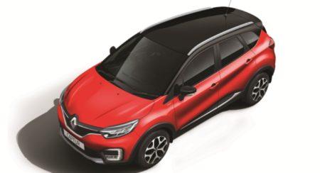 Renault Captur enhanced top quarter