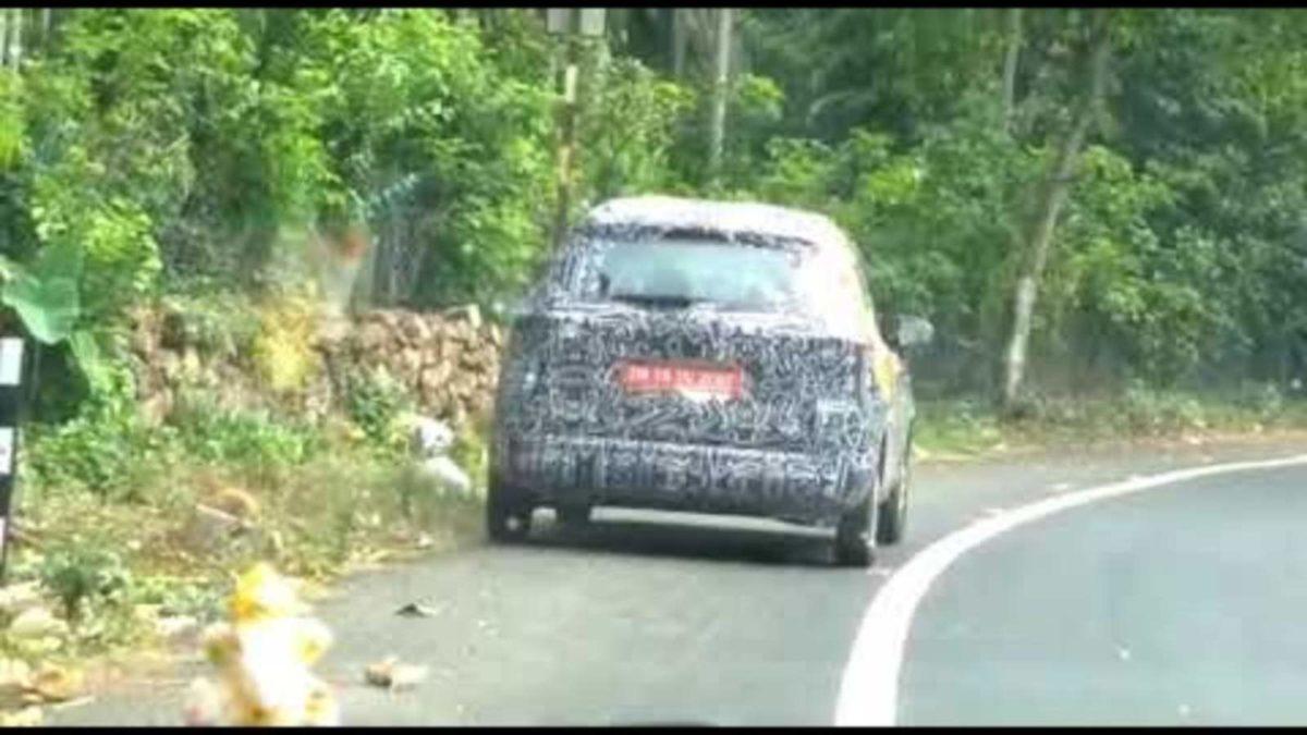 Renault Triber spied rear