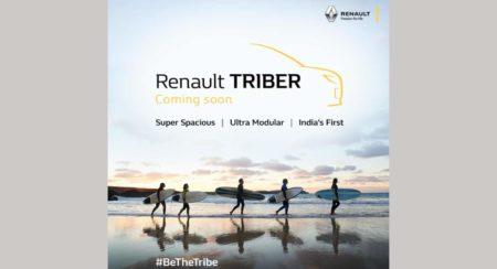 Renault Triber teased on Instagram