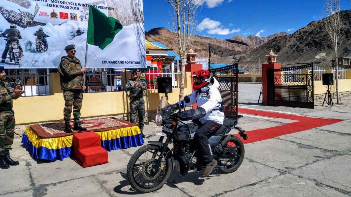 Ride to Karakoram Pass flag off