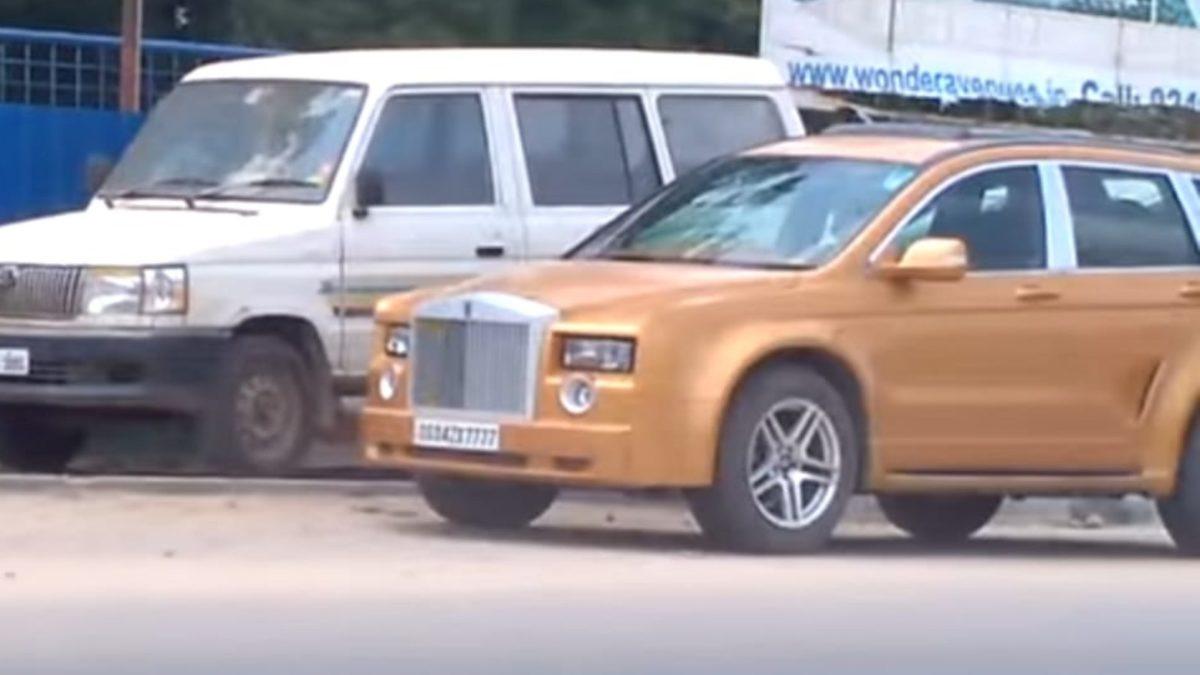 Rolls Royce Cullinan Replica Front end