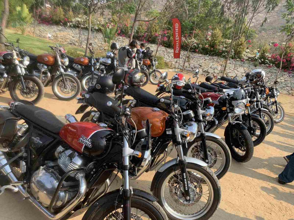 Royal Enfield 650cc Owners Breakfast Meet Interceptor