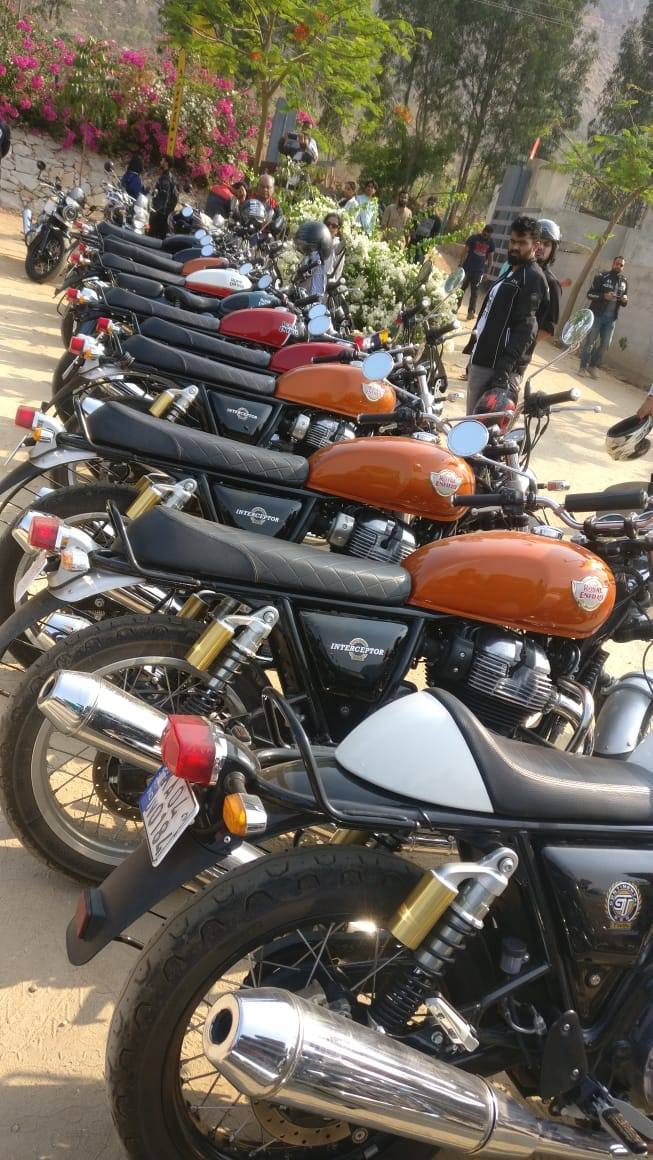 Royal Enfield 650cc Owners Breakfast Meet