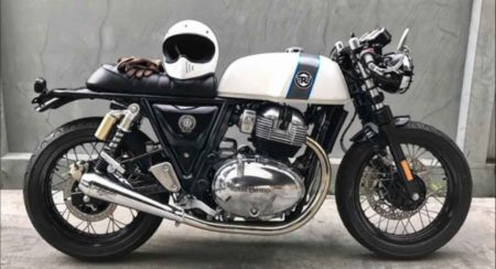 Royal Enfield Continental GT 650 modified side veiw