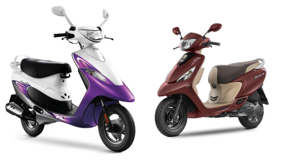 Scooty Pep+ and Zest110