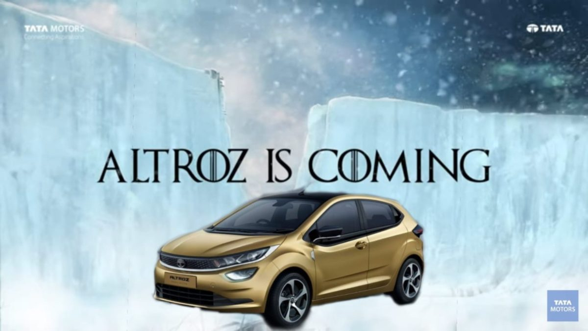 Tata Altroz Winter is coming