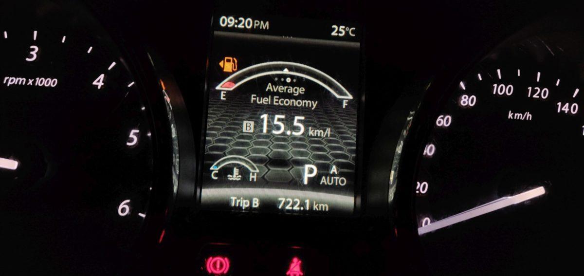 Tata Hexa Automatic Fuel Efficiency