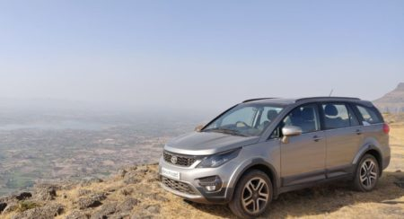 Tata Hexa Automatic Long Term Review Front