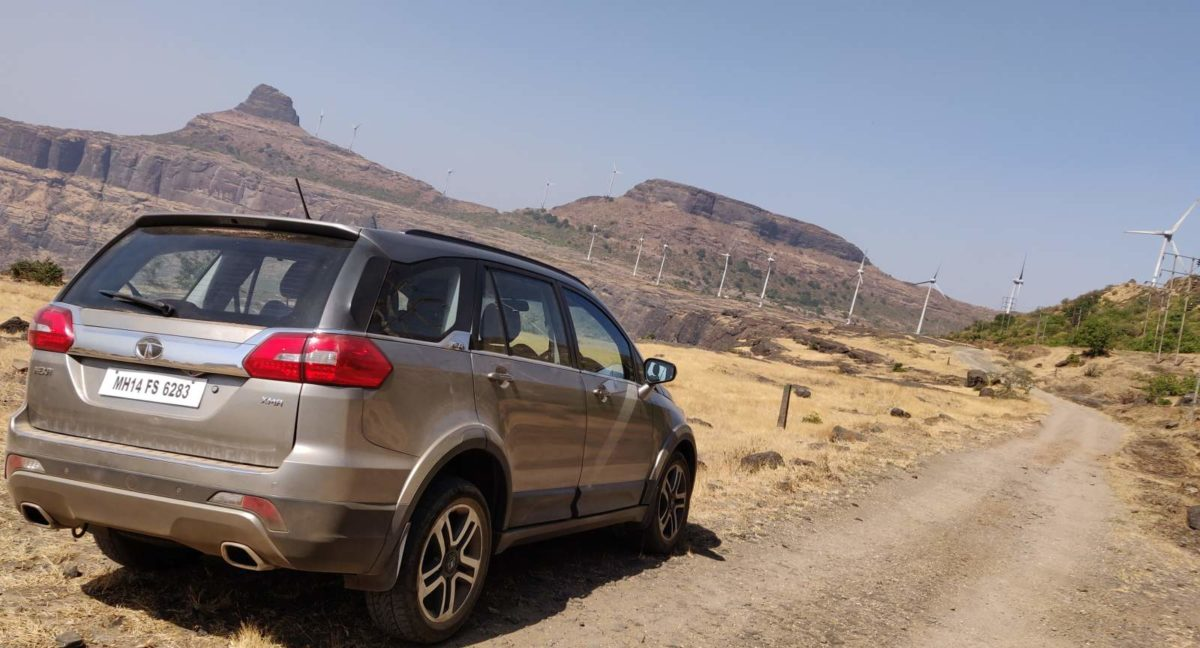 Tata Hexa Automatic Long Term Review Rear