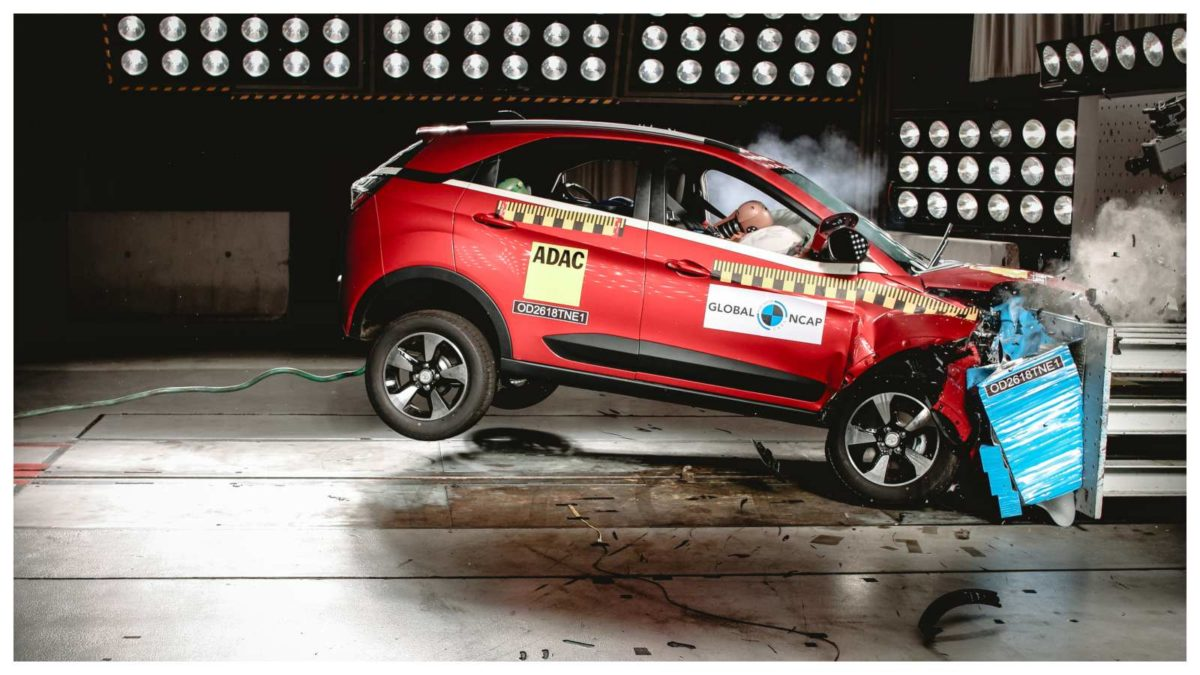 Tata Nexon crash test