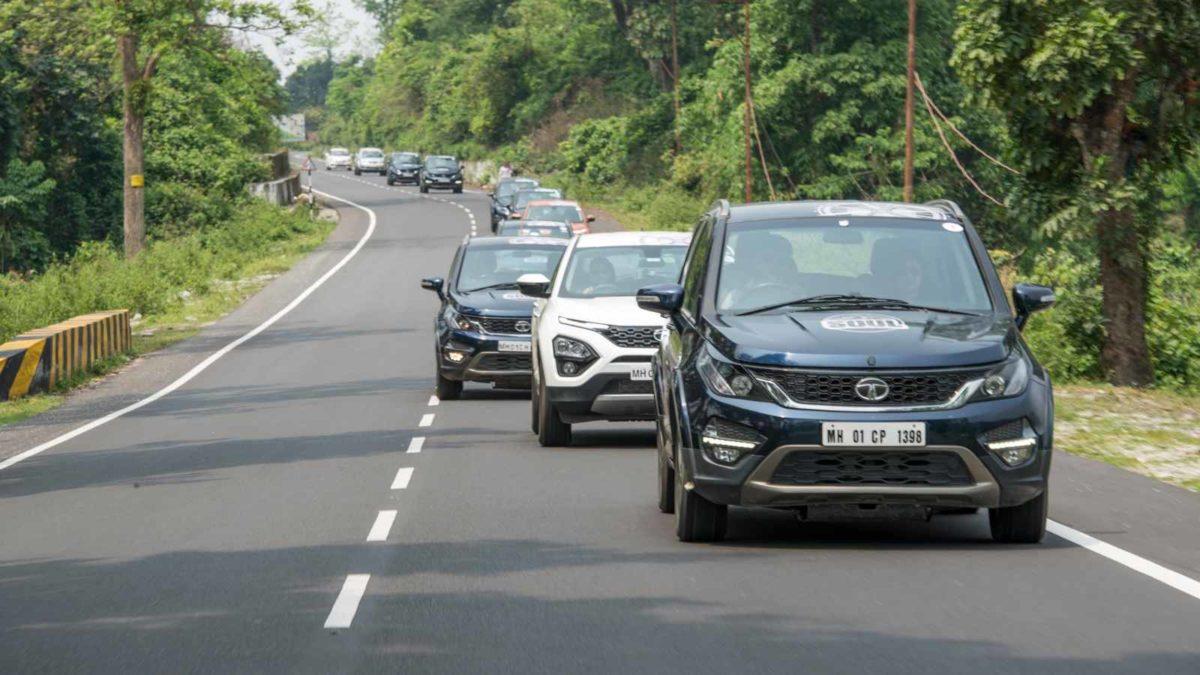 Tata SOUL International drive Hexa, Harrier and Hexa