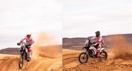 Team Hero Motosport second stage of Merzouga Rally
