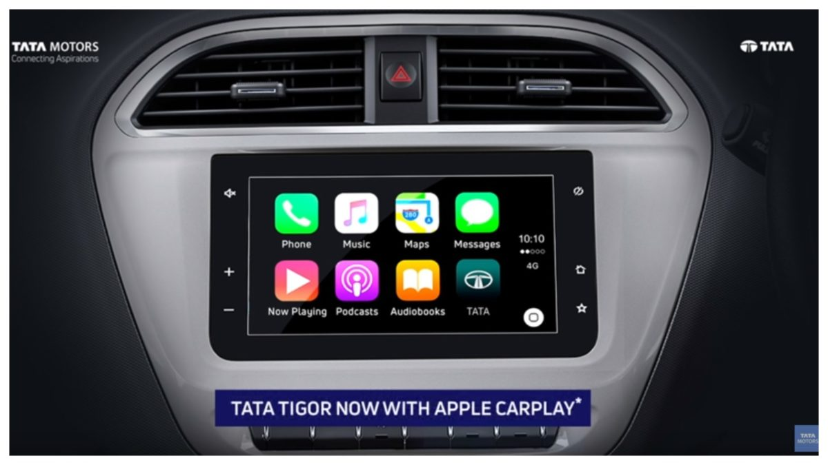 Tigor Apple carplay