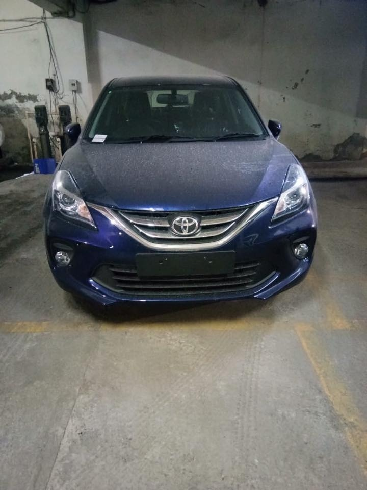 Toyota Glanza spied front end