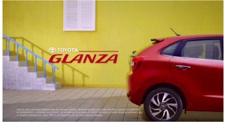 Toyota glanza first teaser