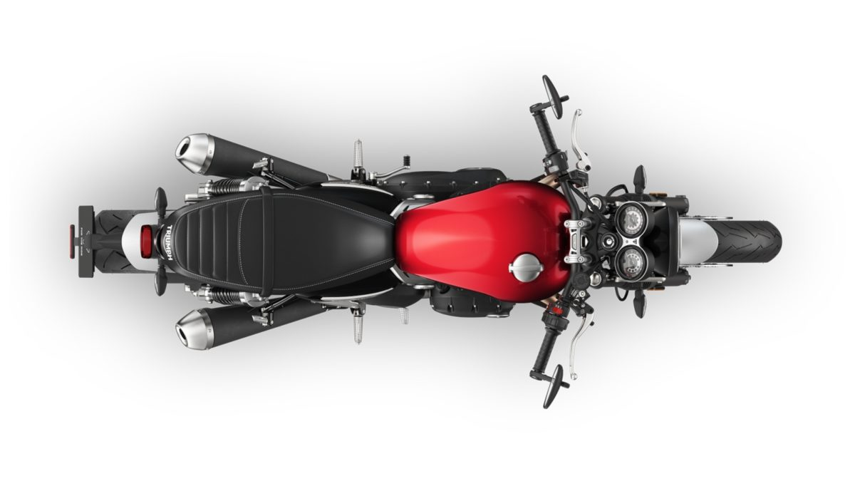 Triumph Speed Twin top view