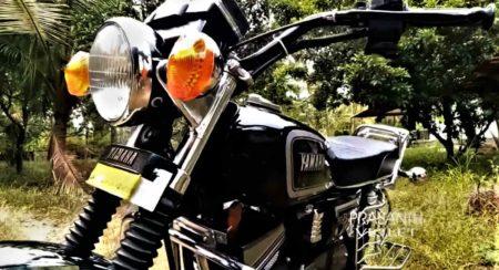 Yamaha RX 100 restoration