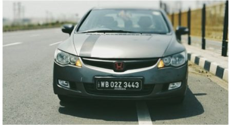 civic modification front