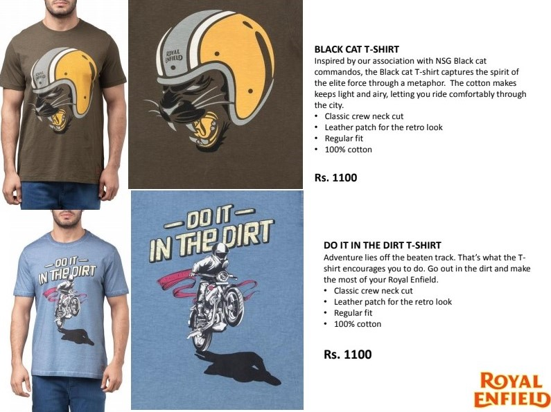 royal enfield t shirts