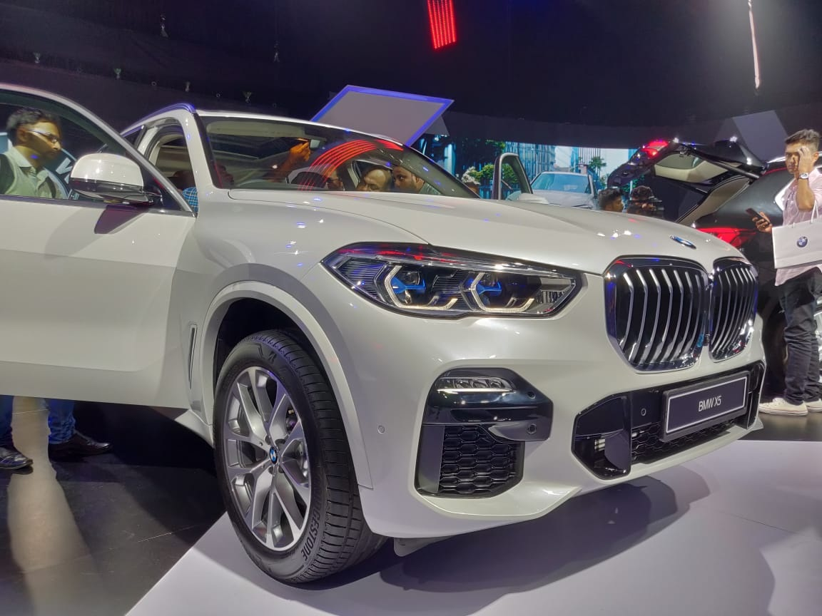 2019 BMW X5 INdia Launch Laser headlights (1)