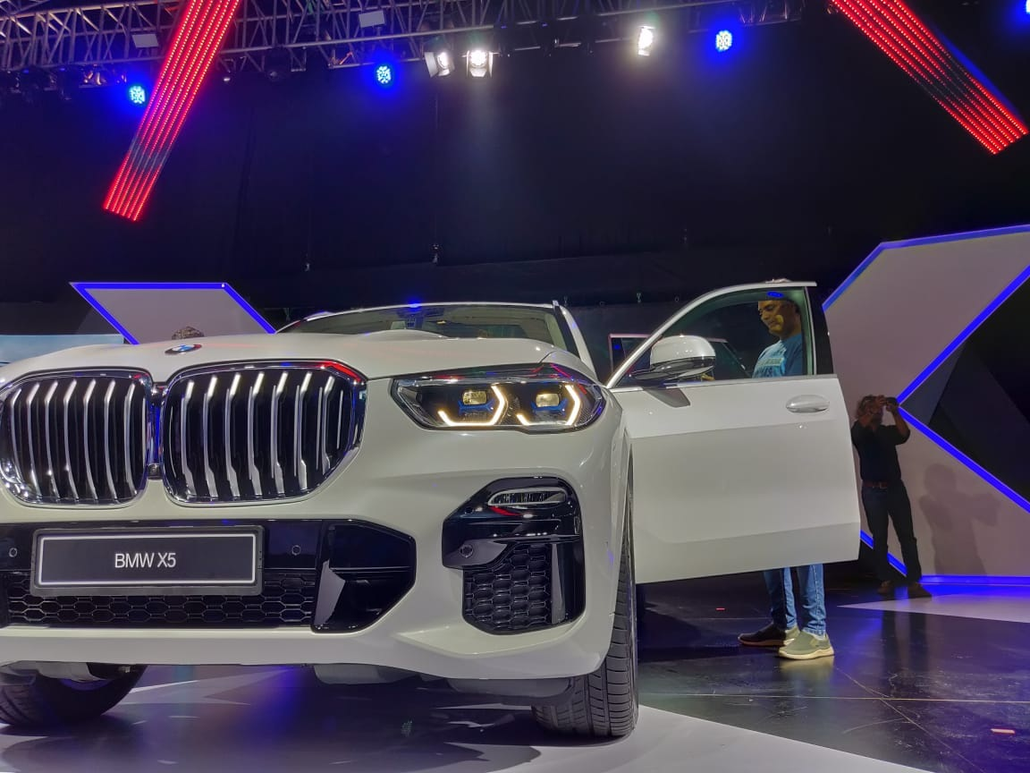 2019 BMW X5 INdia Launch front grille