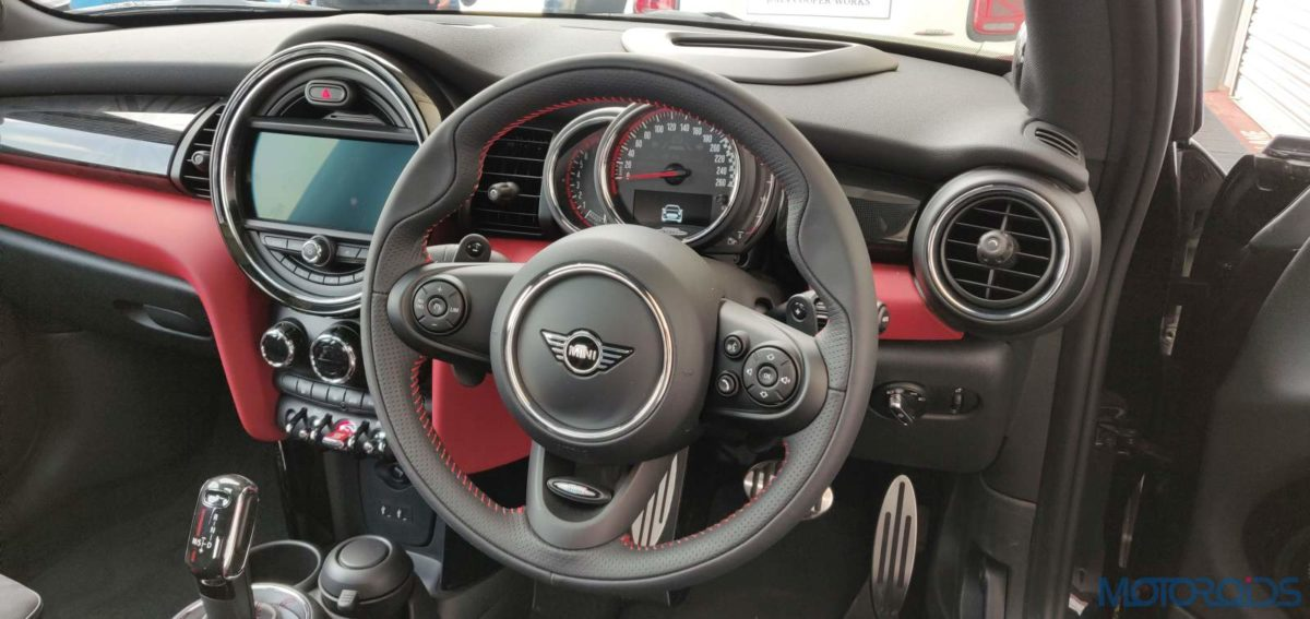 2019 Mini John Cooper Works India Cockpit