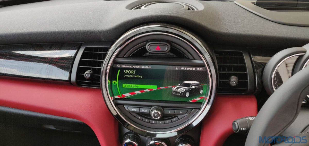 2019 Mini John Cooper Works India infotainment