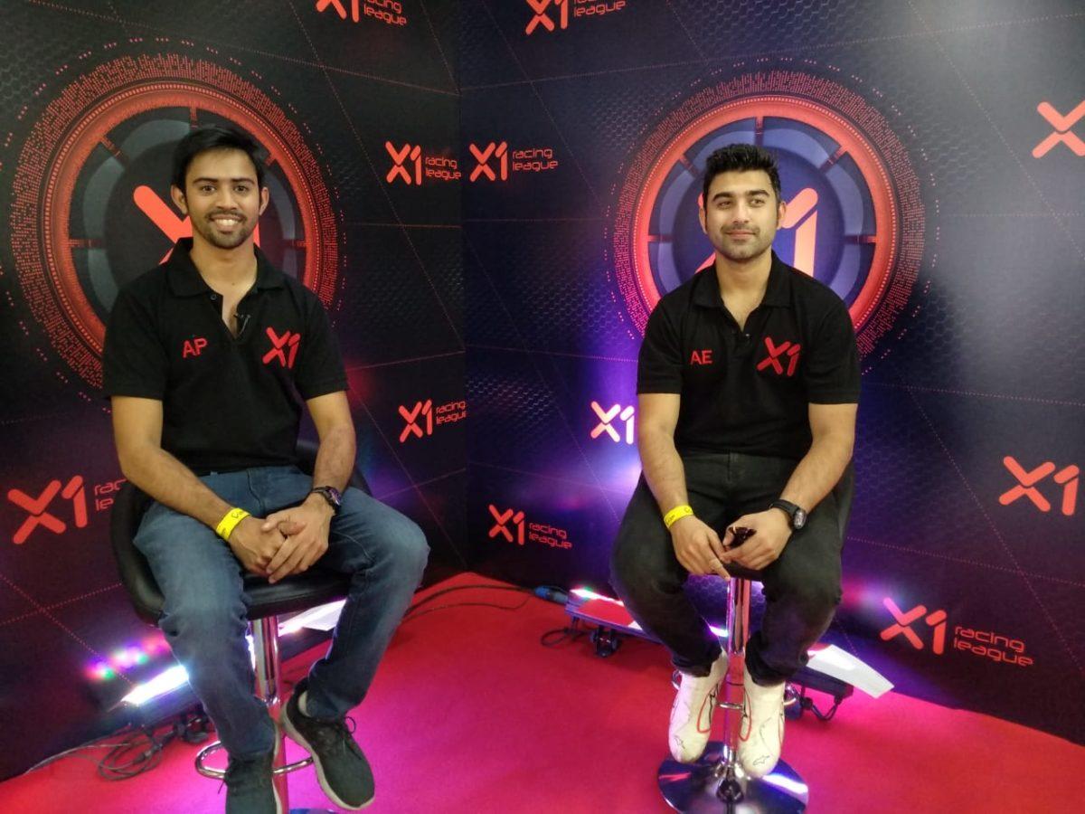 Armaan Ebrahim and Aditya Patel_X1 Racing League