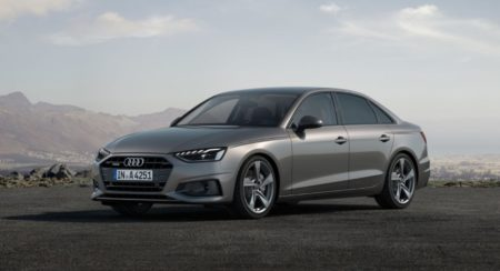 Audi A4 Facelift front quarter
