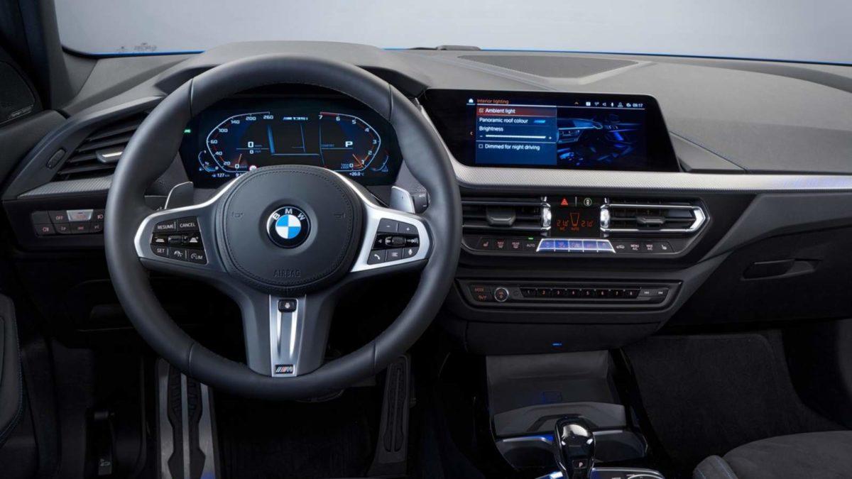 BMW 1 Series third generation interior dashboard