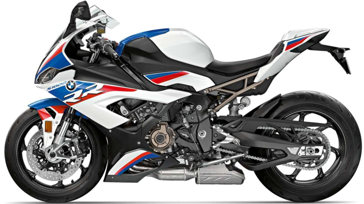 BMW 2019 S1000RR side profile