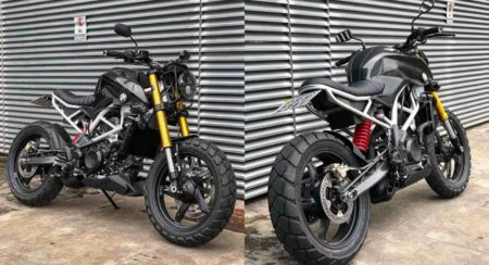 BMW G 310 R modified featured image