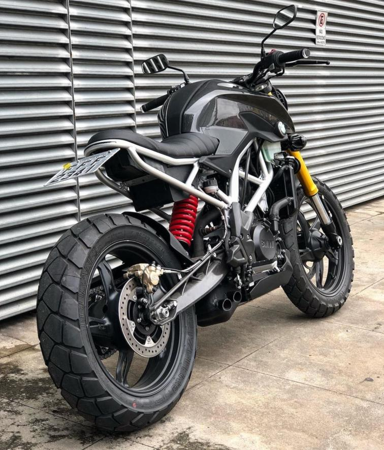BMW G 310 R modified rear quarter