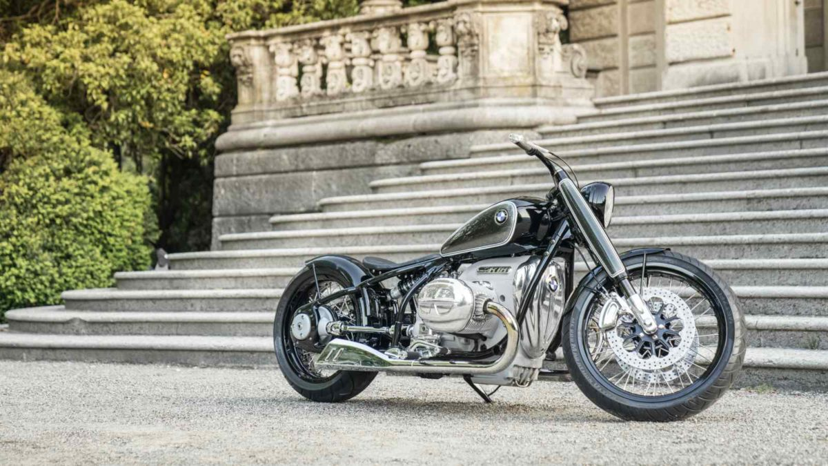 BMW R18 Concept side quarter low