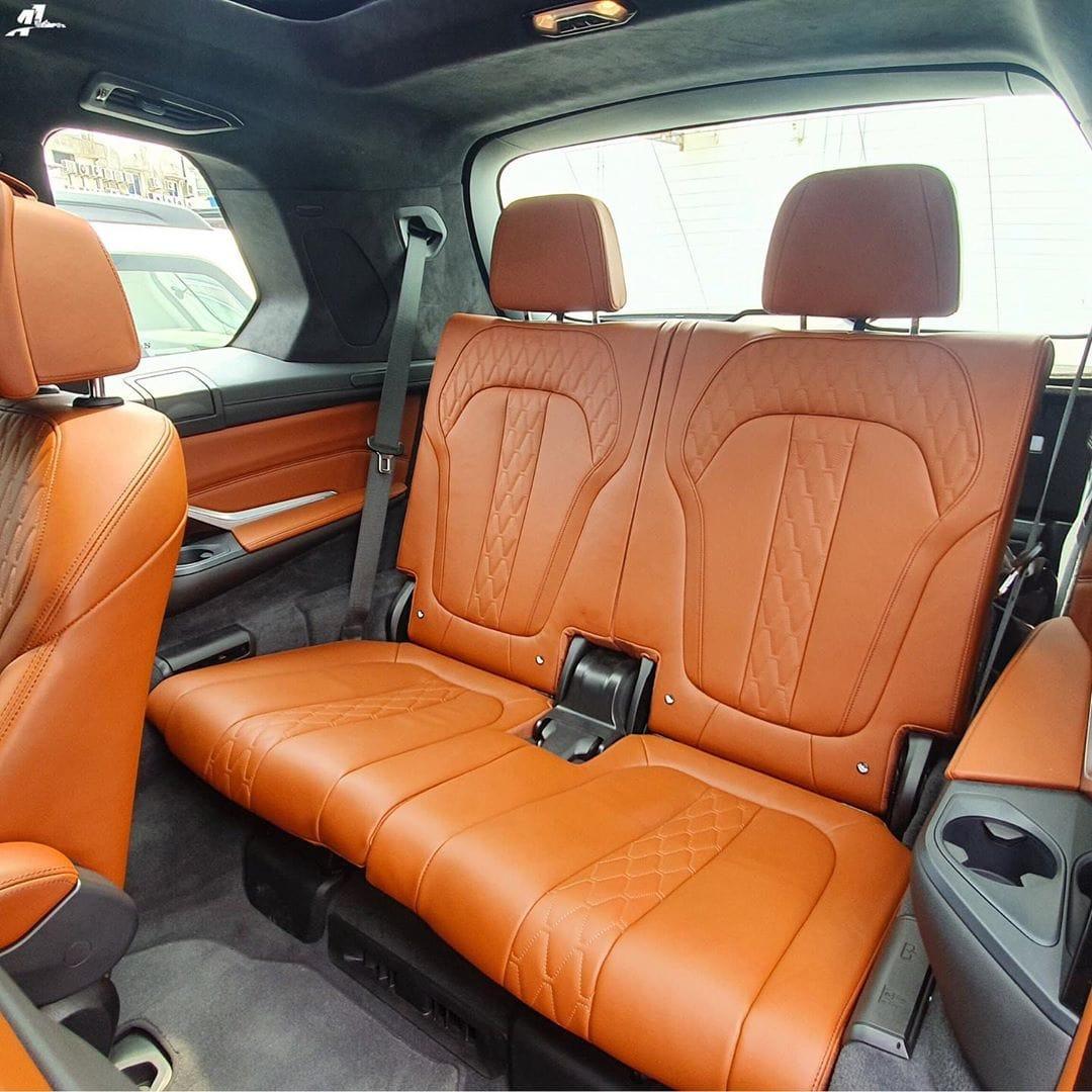 BMW X7 India Spec third row