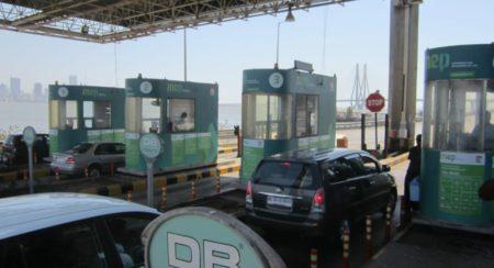 Bandra Worli Sea link toll gate