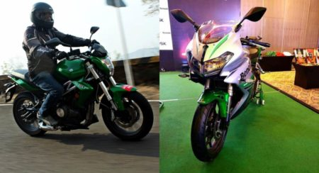Benelli TNT 300 and 302R collage