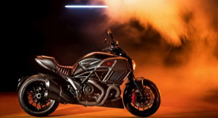 Ducati Diavel side
