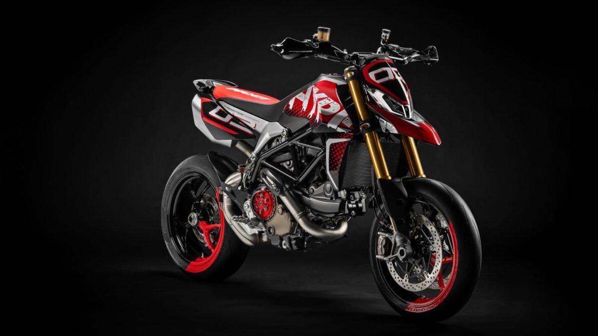 Ducati Hypermotard 950 Concept front quarter