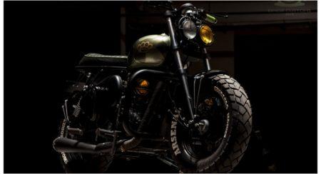 EIMOR Customs Show Off Their Ballistic Take On The Royal Enfield Classic 500