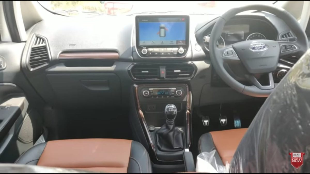 Ford Ecopsort Thunder Edition interior – dash