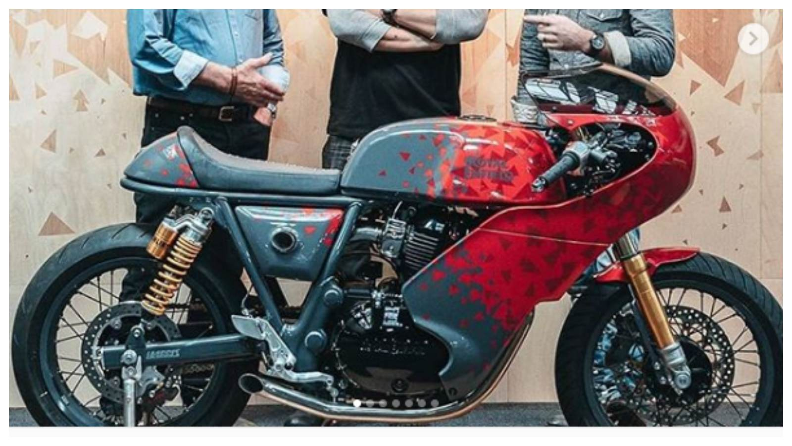 Royal Enfield And Harris Performance Dish Out A Race Ready Continental Gt 650 Motoroids