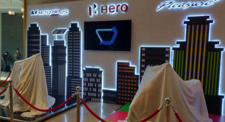 Hero Maestro 125 and Pleasure + launch hidden bikes