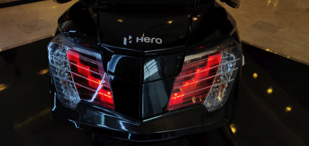 Hero Maestro Edge 125 FI Black Rear Taillight