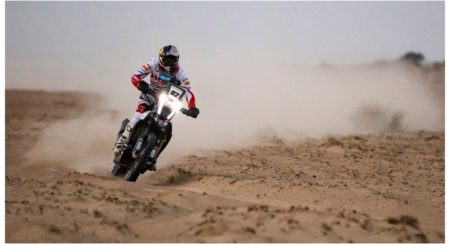 Hero MotoSports Team Rally rider,C S Santosh at Desert Storm Rally 2019[313]