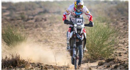 Hero MotoSports Team Rally rider,C.S. Santosh at Desert Storm Rally 2019[312]