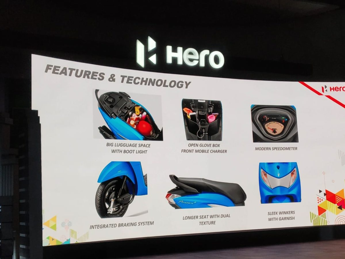 Hero Pleasure+ features